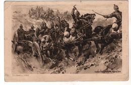 Nr.+  751,   Feldpost,  Gefechtsbilder Von Anton Hoffmann, München - War 1914-18