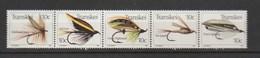 Transkei 1981, Fish Angles 5v - Transkei