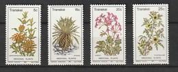 Transkei 1981, Medical Plants 4v Mnh - Transkei