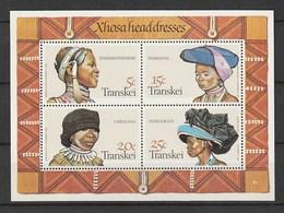 Transkei 1981, Heads & Hats S/s Mnh - Transkei