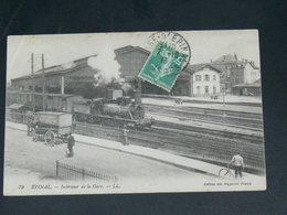EPINAL    1910  /   VUE   GARE   .....  EDITEUR - Epinal