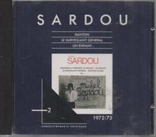 CD. Michel SARDOU. 2. Enregistrements Originaux - 1972/73. Danton - Le Surveillant Général - Un Enfant - 12 Titres - - Music & Instruments