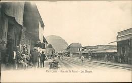Ansichtskarte Port Louis Rue De La Reine - Les Bazars Mauritius 1912 - Mauritius