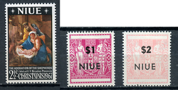 1967 - NIUE- Mi. Nr. 21/22 - NH - (CW4755.16) - Niue