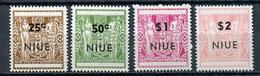 1967 - NIUE- Mi. Nr. 19/22 - NH - (CW4755.16) - Niue