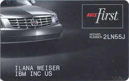 Avis First Customer ID Card - Other