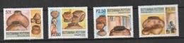 Bostwana 2002, Pottery 4v Mnh - Botswana (1966-...)