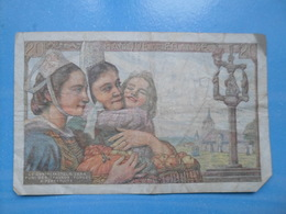 Billet 20 Francs 1949 - 1955-1959 Overprinted With ''Nouveaux Francs''