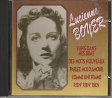 CD. Lucienne BOYER. - 12 Titres - Viens Dans Mes Bras - Parlez-moi D'amour - Comme Une Femme - Des Mots Nouveaux - - Compilations