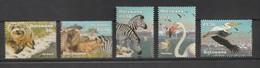 Bostwana 2002, Wetlands 5v Mnh - Botswana (1966-...)