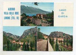 Limone (Brescia) - Albergo Villa Delle Rose - Non Viaggiata - (FDC10306) - Brescia