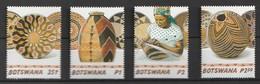 Bostwana 2001, Handicrafts 4v Mnh - Botswana (1966-...)
