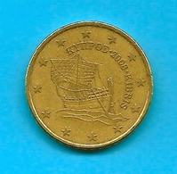 Moneta Da  50  Centesimi - CIPRO  -  Anno 2008. - Cipro