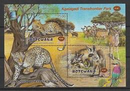 Bostwana 2001, Kgalagadi Park S/s Mnh - Botswana (1966-...)