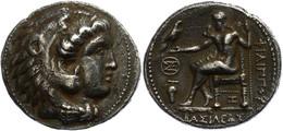 3 Aradus, Tetradrachme (16,41g), Postum, 323-316 V. Chr., Philipp III. Av: Herakleskopf Mit Löwenfell Nach Rechts. Rev:  - Antique