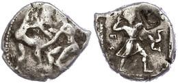 28 Aspendos, Stater (10,89g), Ca. 420-400 V. Chr. Av: Zwei Ringer. Rev: Schleuderer Nach Rechts, Rechts Triskele Und Geg - Antique