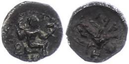 39 Tarsus, Obol (0,71g), 425-400 V. Chr. Av: Sitzender Baaltars Mit Zepter Nach Rechts. Rev: Stehende Männliche Gestalt  - Antique