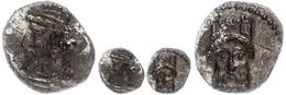 48 Obol (0,67g), Unbestimmte Münzstätte, 351-338 V. Chr. Av: Bärtiger Kopf Mit Kidaris Nach Links. Rev: Kopf Des Bes Auf - Antique