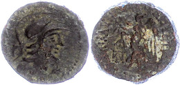 50 Seleukeia Ad Calykadnum, AE (7,71g), Ca. 2./1. Jhd. V. Chr. Av: Behelmter Athenakopf Nach Rechts, Dahinter Buchstaben - Antique