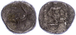 56 Mallos, Stater (10,35g), Ca. 425-385 V. Chr., Av: Kniende, Geflügelte Männliche Gestalt Mit Sonnenscheibe Nach Rechts - Antique