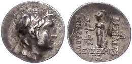 66 Drachme (4,19g), 220-163 V. Chr., Ariarathes IX. Eusebes. Av: Kopf Nach Rechts. Rev: Athena Mit Schild Und Speer Nach - Antique