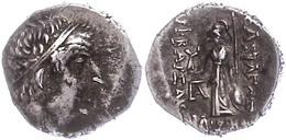 69 Drachme (3,83g), Ariobarzanos I., 96-63 V. Chr.. Av: Kopf Nach Rechts. Rev: Athena Mit Speer Und Schild Nach Rechts S - Antique
