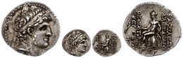 71 Drachme (4,16g), 149-147 V. Chr., Alexander I. Theopator Euergetes, Antiochia Am Orontes. Av: Kopf Nach Rechts. Rev:  - Antique