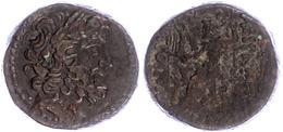 83 Antiochia, Ae (12,98g), Ca. 1. Jhd. V. Chr. Av: Zeuskopf Nach Rechts. Rev: Thronender Zeus Nach Links. Ss.  Ss - Antique