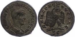 96 Syrien, Antiochia, Tetradrachme (10,69g), Herennius Etruscus, 250-251. Av: Büste Nach Rechts, Darum Umschrift. Rev: S - Roman