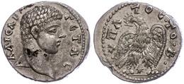 103 Syrien, Laodicea Ad Mare, Tetradrachme (13,34g), Geta, 208-209. Av: Kopf Nach Rechts, Darum Umschrift. Rev: Adler Mi - Roman