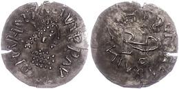 113 Ostgothen, Theodosius, 493-526, Im Namen Des Anastasius I., 1/4 Siliqua (0,99g), Sirmium, Av: Büste Nach Rechts, Dar - Antique