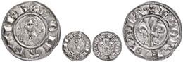 118 Italien, Florenz, Fiorino D'argento (1,75g), 1189-1252, Av: Lilie, Im Außenkranz Umschrift, Rev: Brustbild Des Heili - Coins