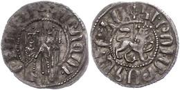 122 Armenien, Tram (2,72g), O.J.(1226-12270),  Hetoum I., Ss.  Ss - Other Coins
