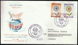 Turkey 1964 / Europa CEPT / FDC - Europa-CEPT