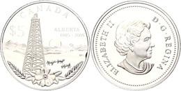 489 5 Dollars, 2005, 100 Jahre Alberta, KM 554, Schön 616, Im Etui Mit OVP Und Zertifikat, PP. Auflage Nur 20.000 Stück. - Australia