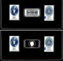 491 1 Dollar, 2013, 100. Jahrestag Der Ersten Banknote Australiens, 1 Unze Silber, 2 Briefmarken, In Schatulle Mit OVP U - Australia