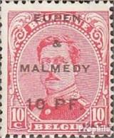 Belg. Post Eupen / Malmedy 2A Avec Charnière 1920 Albert I. - Guerre 14-18