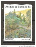 ANTIGUA & BARBUDA - 1992 JOAQUIN MIR TRINXET Giardino Dell'Ermitage Nuovo** MNH - Vegetazione
