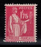 YV 289 N* Type Paix Cote 5 Euros - France