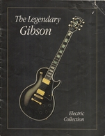 THE LEGENDARY GIBSON Electric Collection - 1991 - 16 Pages Gibson Magazine - Manifesti & Poster