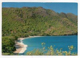 CPSM - SAINT-VINCENT-ET-LES-GRENADINES - BEQUIA - LOWER BAY - Timbres Philatélique - Oiseaux - Monnaies - Coul - Ann 80 - Saint-Vincent-et-les Grenadines