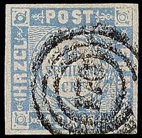 """2516 """"170"""" - Holsteinisches Bahnpost-Speditionsbureau, Klar Und Fast Zentrisch Auf Voll- Bis Breitrandiger 1 1/4 S. Dunk - Schleswig-Holstein"""