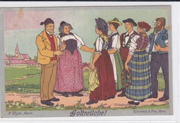 Schweizerische Landesausstellung 1914 In Bern. Gottwilche ! P. Wyss Bern, Stempel Der Ausstellung - Expositions