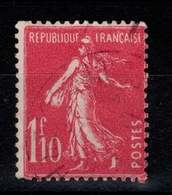 YV 238 Semeuse Oblitérée - Used Stamps