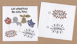 CC Carte Parfumée 'NINA RICCI NINA LUNA MONSTERS Perfume Blotter Card - Modern (from 1961)