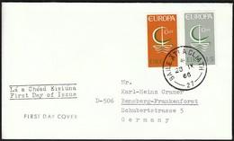 Ireland 1966 / Europa CEPT / FDC - 1966