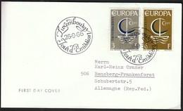 Luxembourg 1966 / Europa CEPT / FDC - Europa-CEPT