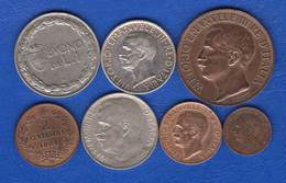 Italie  7  Pieces - 1861-1946 : Regno
