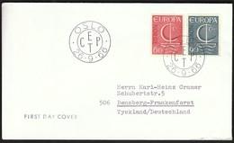 Norway 1966 / Europa CEPT / FDC - Europa-CEPT