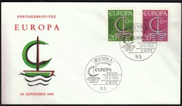 Germany Bonn 1966 / Europa CEPT / FDC - 1966